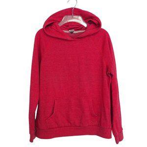 Roxy Hoodie Sweatshirt Pullover Hood Pocket Pink